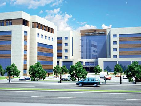 Tekirdağ Çorlu Bölge Adalet Sarayı İnşaatı